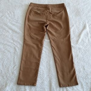Eileen Fisher Pants - Eileen Fisher   Tan Slim Straight Leg Pants